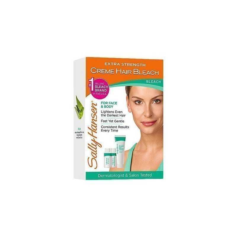Sally Hansen Creme Hair Bleach For Face & Body 42,5g+21,2g+29,5ml, rozjaśniacz