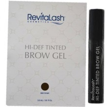 RevitaLash Hi-Def Tinted Dark Brown Brow Gel 3.0ml, żel TESTER