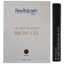 RevitaLash Hi-Def Tinted Soft Brown Brow Gel 3.0ml, żel TESTER