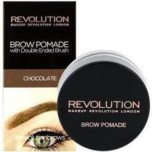 Makeup Revolution Brow Pomade Chocolate, czekoladowa pomada do brwi 2.5g