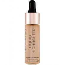 Makeup Revolution Liquid Highlighter Champagne, płynny rozświetlacz 18ml