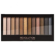 Makeup Revolution Redemption Palette Iconic 1, beże, szarość i brąz o perłowym wykończeniu