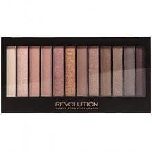 Makeup Revolution Redemption Palette Iconic 3, brązowe o satynowym wykończeniu
