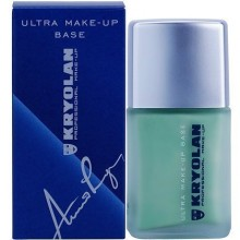 Kryolan Ultra Make-Up Base Mint, baza pod podkład 30ml