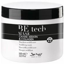 Be Hair BE TECH maska z kolagenem odbudowująca włosy 500ml