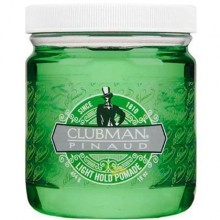 Clubman LIGHT Pomade utrwalająca pomada do włosów dla mężczyzn 118ml