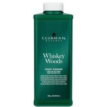 Clubman Talc Whiskey Woods talk do wrażliwej skóry głowy 255g