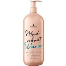 Schwarzkopf Mad About Waves Sulfate Free Cleanser szampon oczyszczający 1000ml