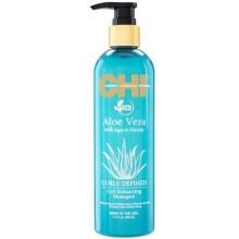 Chi Aloe Vera Curl Enhancing  szampon wzmacniający z aloesem 340ml