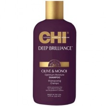 Chi Deep Brilliance Optimum Moisture szampon z oliwą z oliwek 355ml