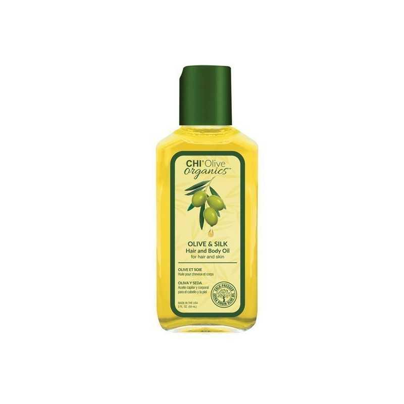CHI Olive Organics Hair and Body Oil olejek z oliwą z oliwek 59ml