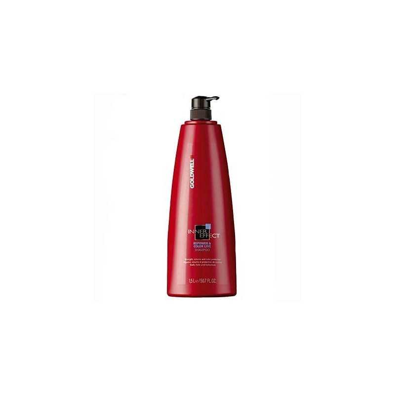 Goldwell InnerEffect Repower, Szampon dla włosów słabych i farbowanych 1500