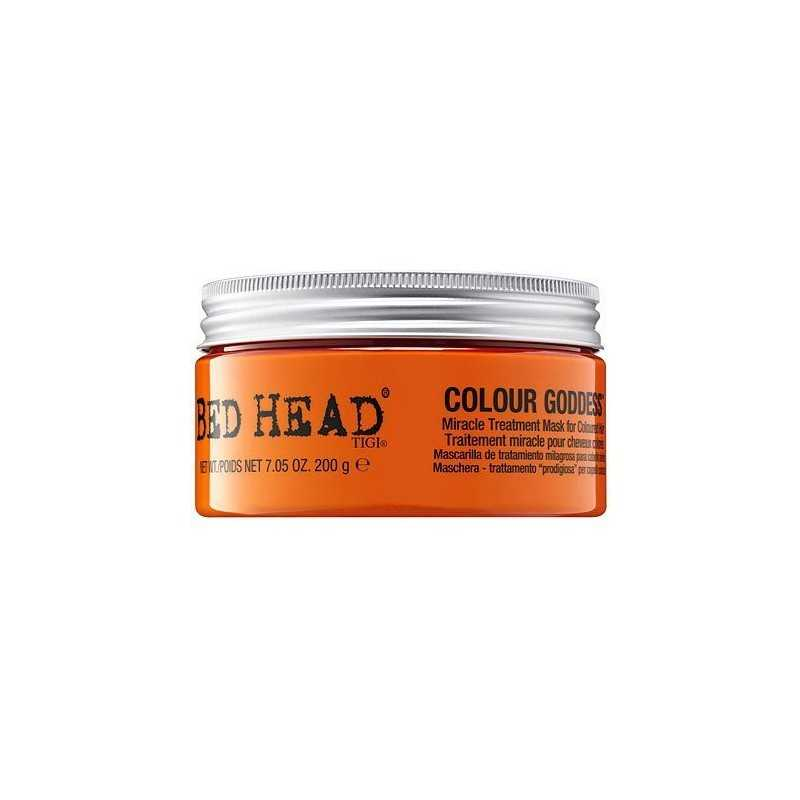 Tigi Bed Head Colour Goddess maska nabłyszczająca dla brunetek i rudych 200g