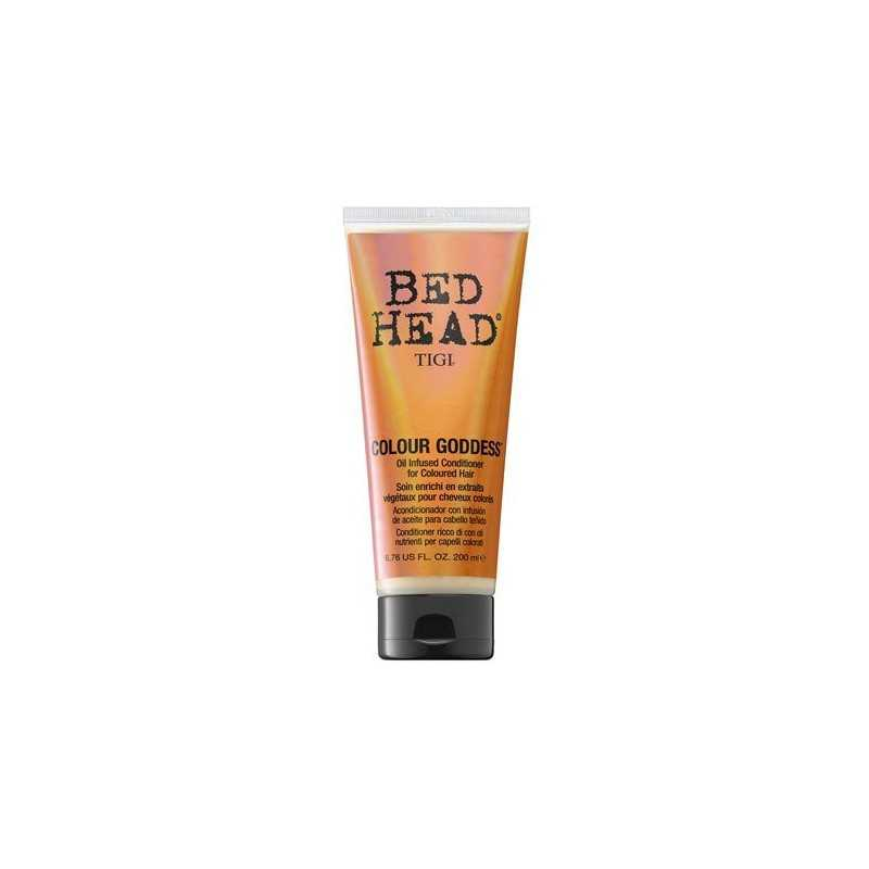 Tigi Bed Head Colour Goddess odżywka do włosów farbowanych dla brunetek i rudych 200ml
