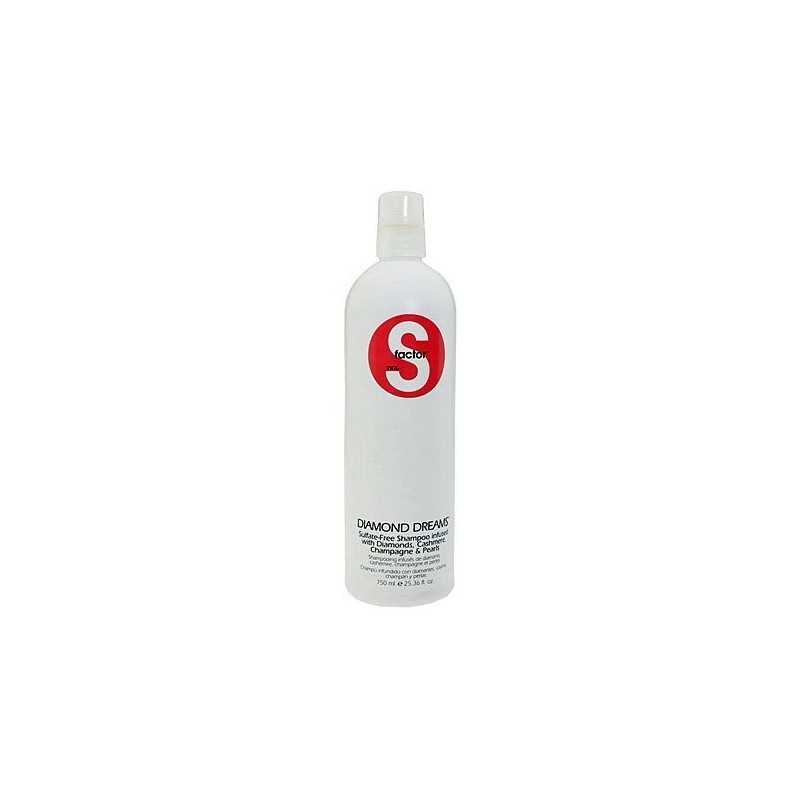 Tigi S-Factor Diamond Dream szampon nadający włosom blasku 750ml