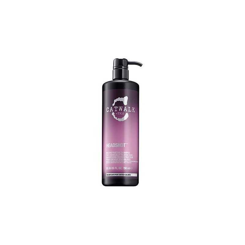 Tigi Catwalk Headshot rekonstruujący szampon do włosów zniszczonych zabiegami 750ml
