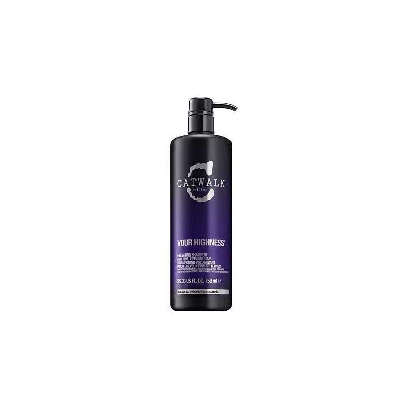 Tigi Catwalk Your Highness szampon nadający włosom objętości i blasku 750ml