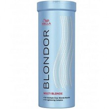 WELLA BLONDOR MULTI BLOND POWDER, Rozjaśniacz włosów blond 400g