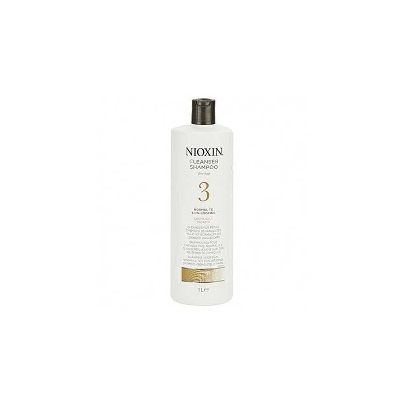 Nioxin 3 Cleanser Szampoo 1000ml