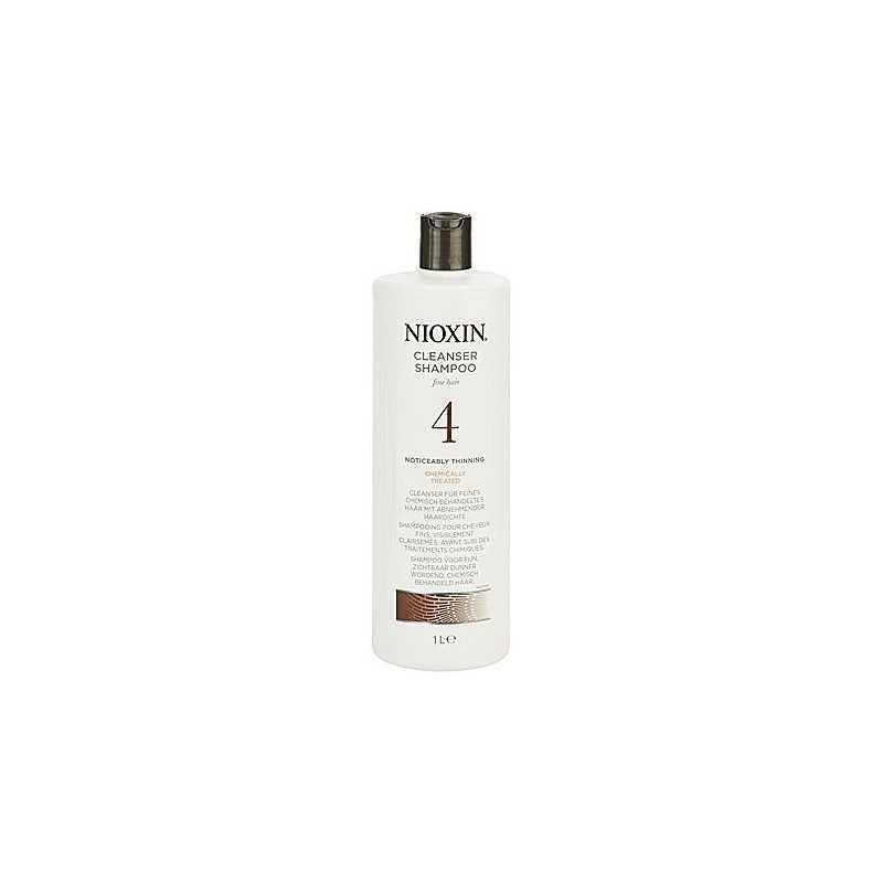 Nioxin 4 Cleanser Shampoo 1000ml, szampon