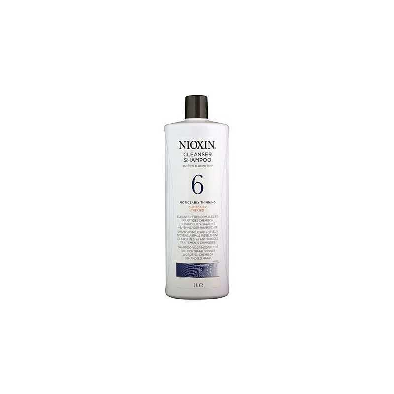 Nioxin 6 Cleanser Szampoo 1000ml