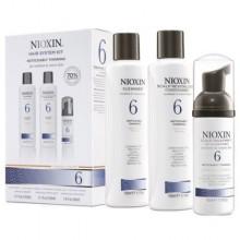 Nioxin 6 Trialkit 150+150+40ml, zestaw