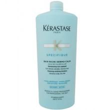 KERASTASE Riche Dermo Calm szampon witalizujący i wygładzający włosy 1000ml