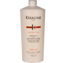 KERASTASE BAIN SATIN 1 szampon odżywczy do włosów 1000ml