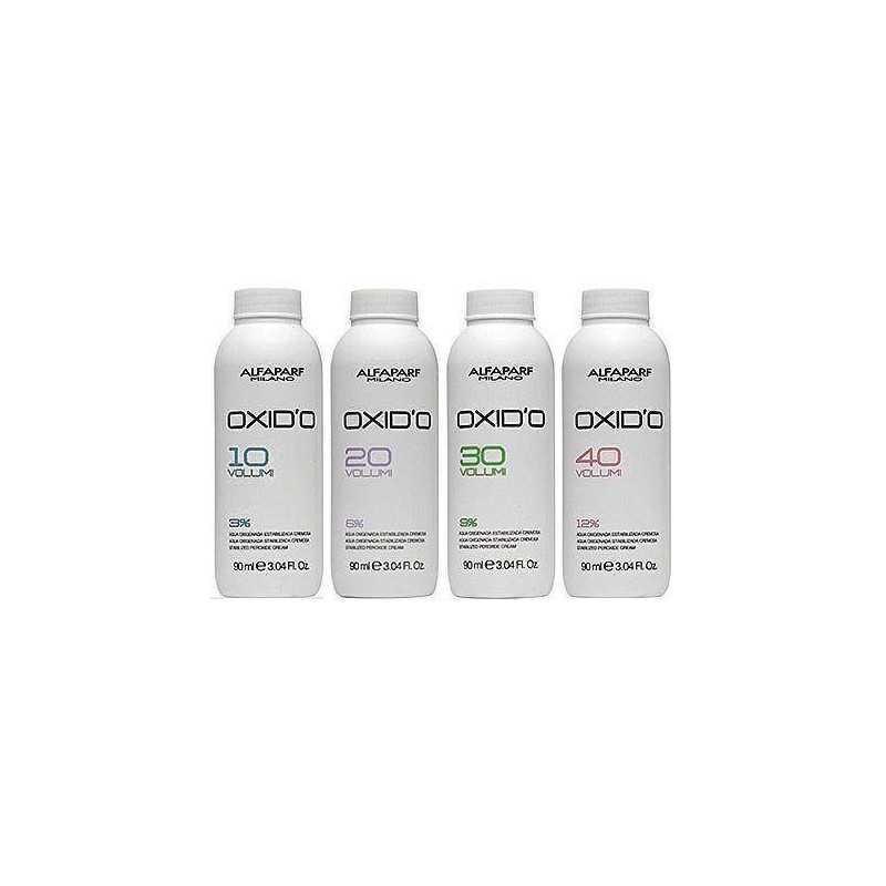 Alfaparf Oxido 3%, 6%, 9%, 12 %  90ml, oxydant w kremie do farb