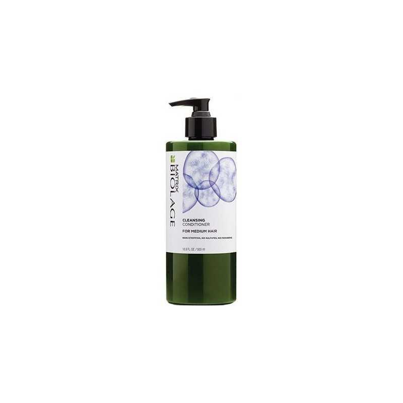 Matrix Biolage Cleansing, Odżywka myjąca Medium 500ml