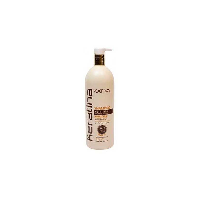 Kativa Keratina Nutrition Shampoo 1000ml, szampon