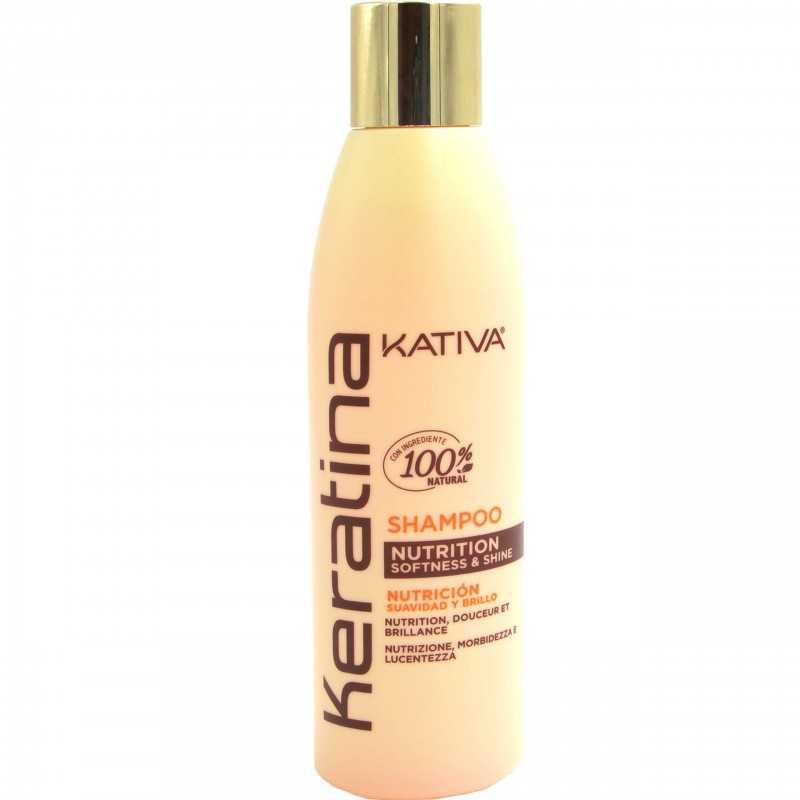 Kativa Keratina Nutrition Shampoo 250ml, szampon