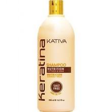 Kativa Keratina Nutrition Shampoo 500ml, szampon