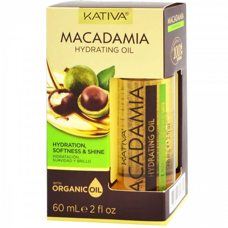 Kativa Macadamia Hydrating Oil 60ml, olejek