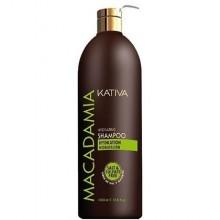 Kativa Macadamia Hydrating 1000ml, szampon