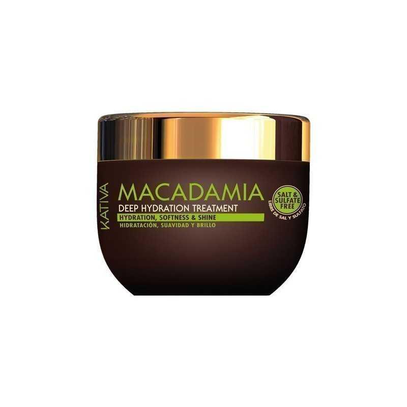 Kativa Macadamia Deep Hydration Treatment 250ml, maska
