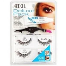 Ardell Deluxe Pack 120 BLACK zestaw startowy z naturalnych włosów