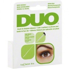 Ardell DUO Brush CLEAR Vitamin 5g bezbarwny klej do rzęs