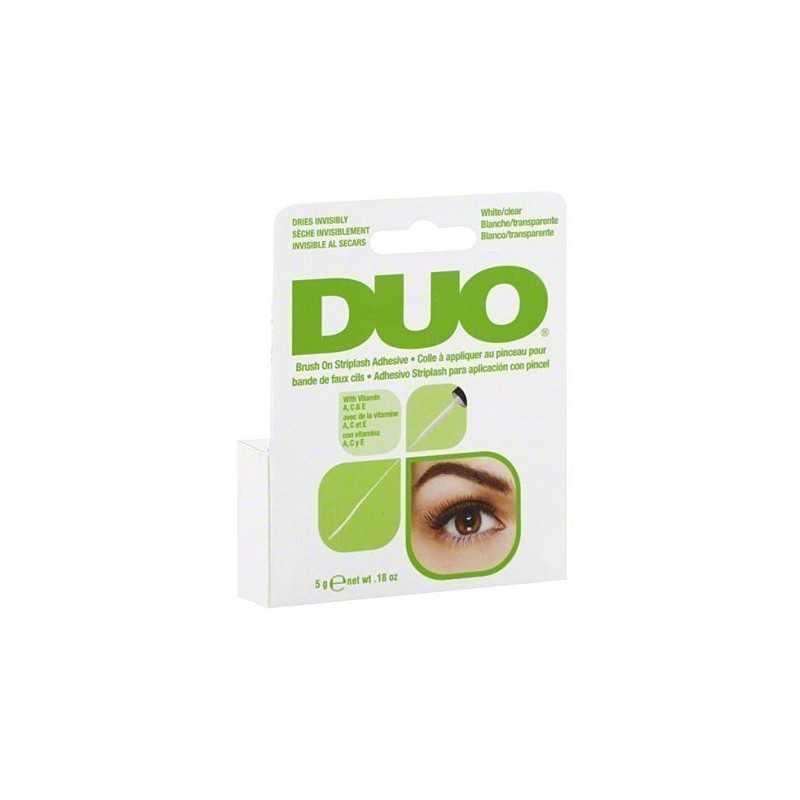 Ardell DUO Brush CLEAR Vitamin 5g bezbarwny klej do rzęs