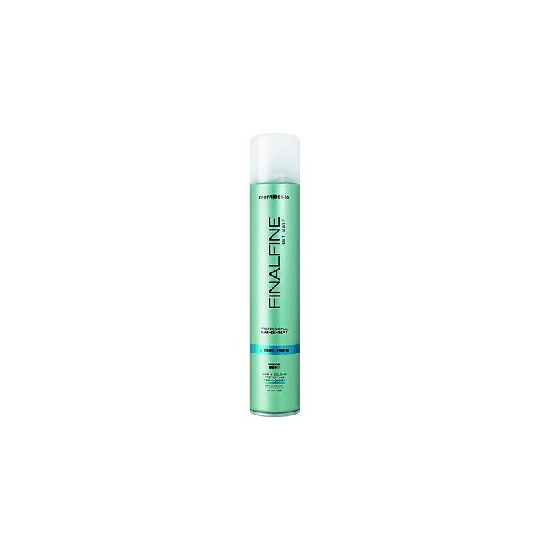 Montibello Finalfine Ultimate Strong Hairspray 500ml, lakier