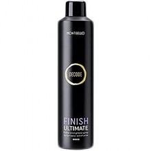 Montibello Decode Finish Ultimate Extra Strong Hairspray 400ml, lakier