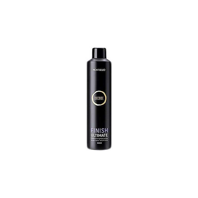 Montibello Decode Finish Ultimate Extra Strong Hairspray 400ml, lakier
