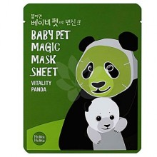 Holika Holika Baby Pet Magic Mask Sheet Vitality Panda 1szt, maseczka