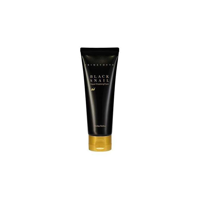 Holika Holika Prime Youth Black Snail Cleansing Foam 100ml, pianka