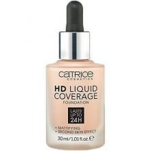 Catrice HD Liquid Coverage Foundation, podkład kryjący do twarzy 30ml