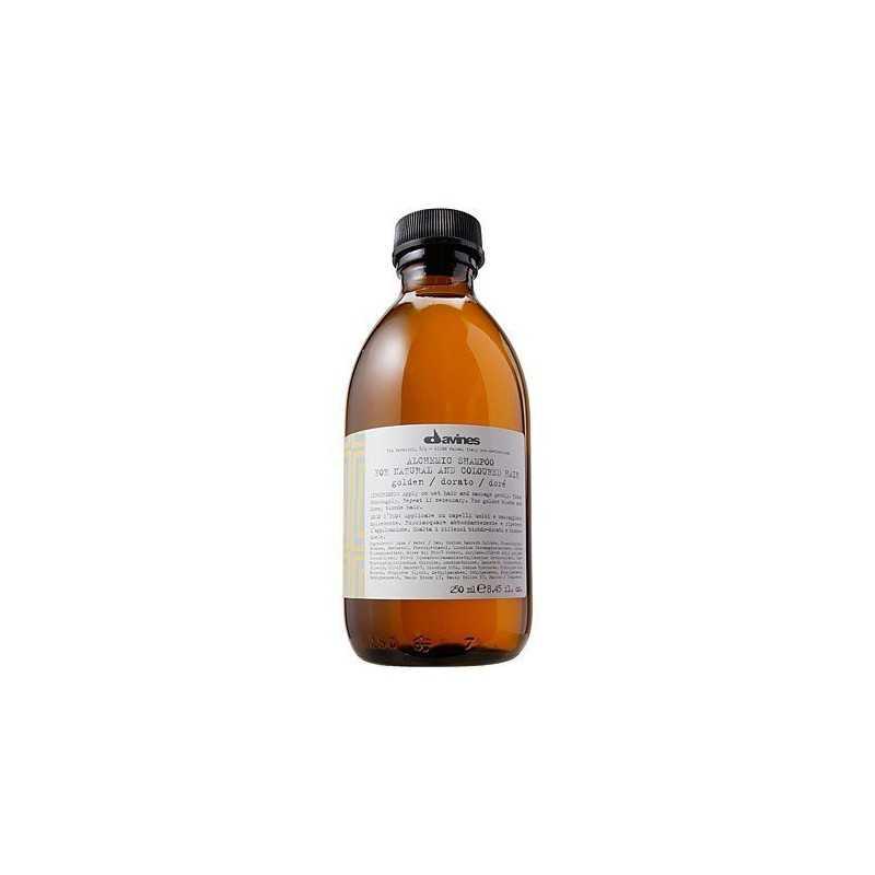 Davines Alchemic Golden, szampon do złotych i miodowych włosów blond 280ml