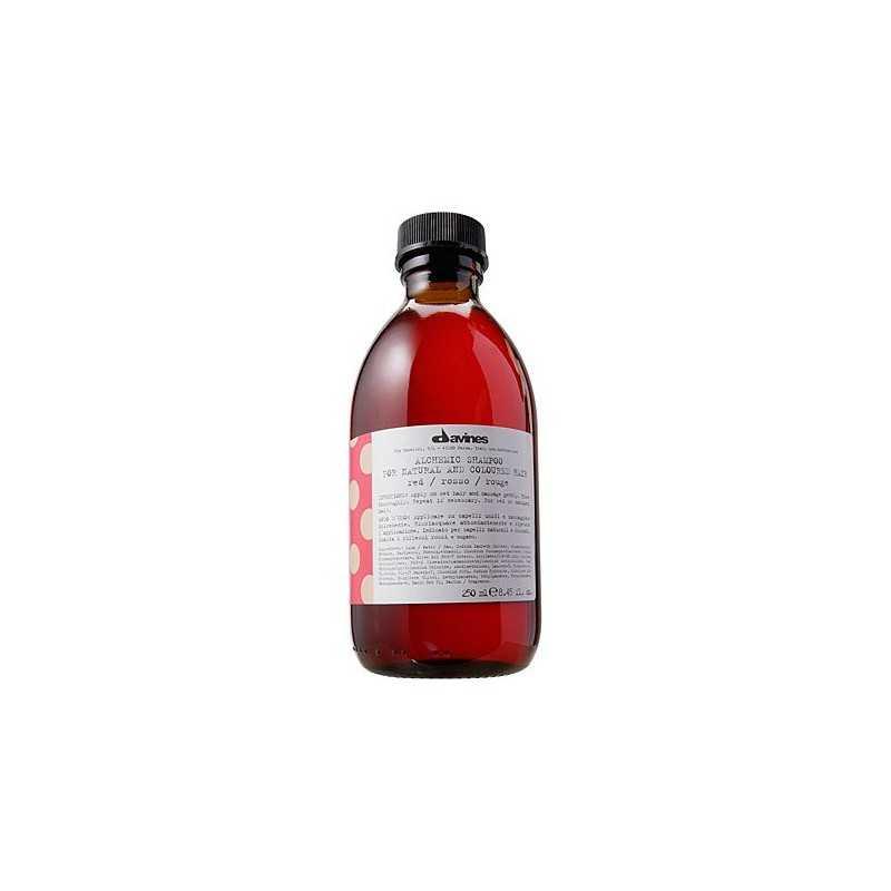 Davines Alchemic Red, szampon do włosów czerwonych lub mahoniowych 280ml