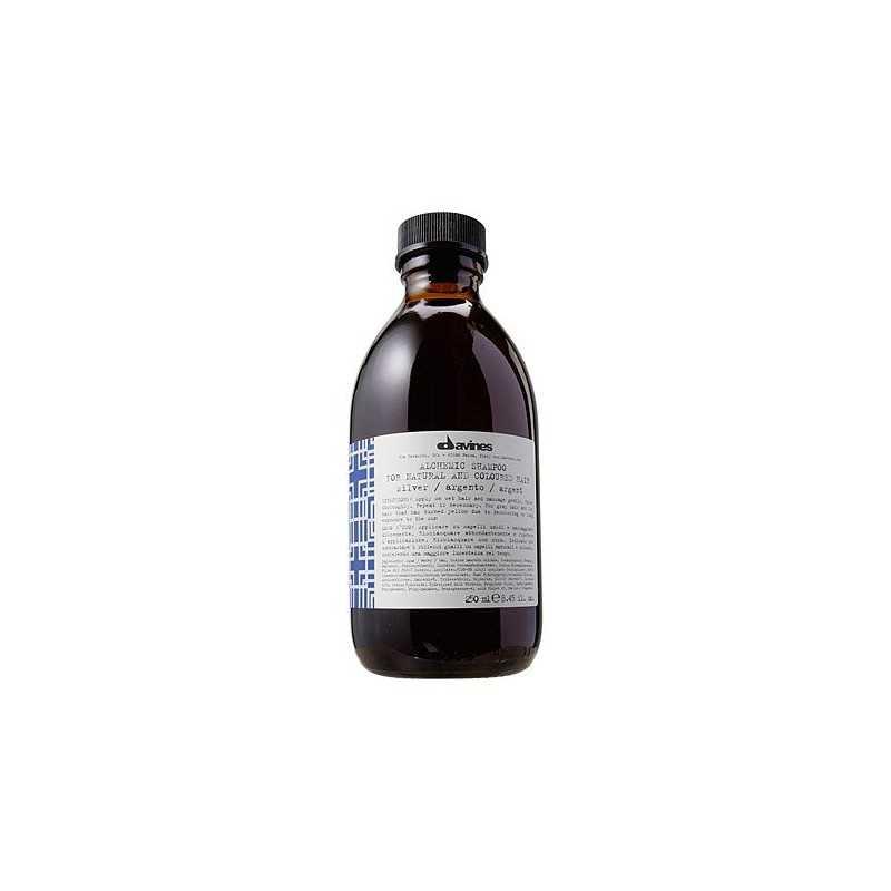 Davines Alchemic Silver, szampon do włosów rozjaśnianych lub siwych 280ml