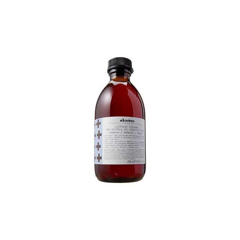 Davines Alchemic Tobacco, szampon do włosów brązowych lub jasno brązowych 280ml