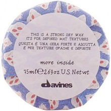 Davines More Inside Strong Dry Wax 75ml, wosk